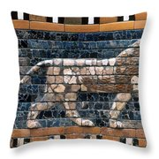 Babylon: Lion Throw Pillow