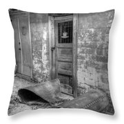 Back Alley Bow Throw Pillow