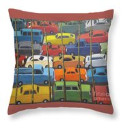 Back And Forth Throw Pillow