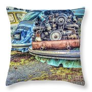 Back End Bugs Throw Pillow