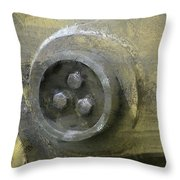 Back Hoe 1 Throw Pillow