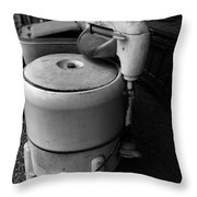 Back In The Day When Washing Clothes Was Fun Throw Pillow