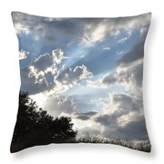 Back Lighting Throw Pillow