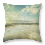 Back Strand 6 Throw Pillow by Marion Galt