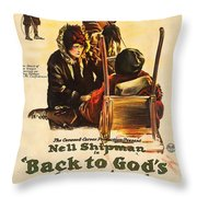 Back To God's Country 1919 Throw Pillow