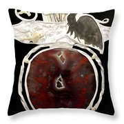Back To Nature Necklace Throw Pillow