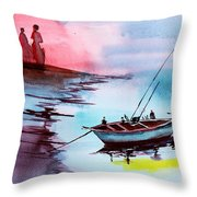 Back To Pavilion 2 Throw Pillow
