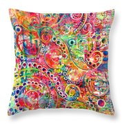 Back To The Beginning Throw Pillow