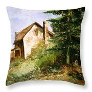 Back To The Farm Throw Pillow