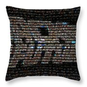 Back To The Future Mosaic Throw Pillow