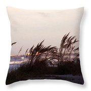 Back To The Shores Throw Pillow