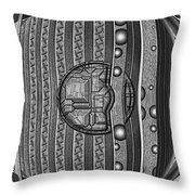 Backbeat Throw Pillow
