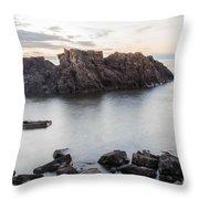 Backbone At Sundown Throw Pillow