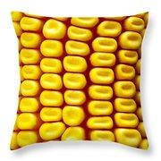 Background Corn Throw Pillow