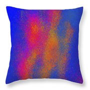 Dancing Colors Throw Pillow