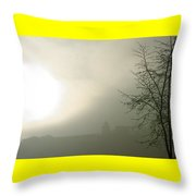 Backlight Throw Pillow