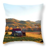 Backroad  Throw Pillow