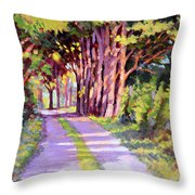 Backroad Canopy Throw Pillow