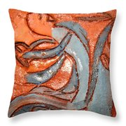 Backseat - Tile Throw Pillow