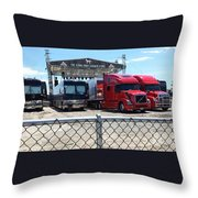 Backstage Rig Throw Pillow