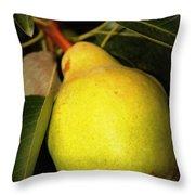 Backyard Garden Series - One Pear Throw Pillow