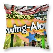 Backyardigans Swing-a-long Throw Pillow