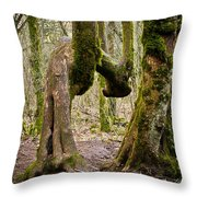 Bad Back Throw Pillow