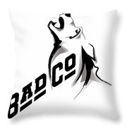 Bad Company Throw Pillow