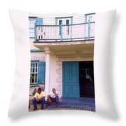 Bad Day In Court Throw Pillow