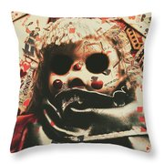 Bad Magic Throw Pillow