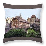 Bad Wimpfen 4 Throw Pillow