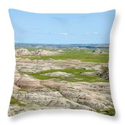 Badland Throw Pillow
