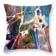 Badlands 1 Throw Pillow
