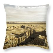 Badlands 2 Throw Pillow