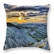 Badlands 6 Throw Pillow