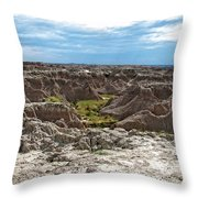 Badlands 8 Throw Pillow