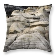 Badlands Drumheller Alberta Canada 2 Throw Pillow