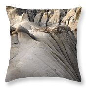 Badlands Drumheller Alberta Canada 7 Throw Pillow