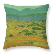Badlands Grandeur Throw Pillow