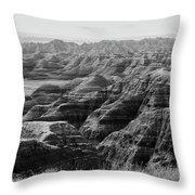 Badlands Of South Dakota #2 Throw Pillow