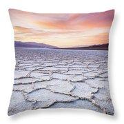 Badwater Throw Pillow
