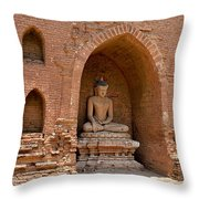 Bagan, Burma Throw Pillow