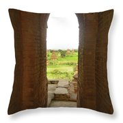 Bagan Pagpodas Throw Pillow