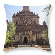 Bagan Sulamani Temple Throw Pillow