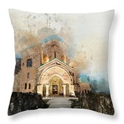 Bagrati Cathedral Throw Pillow