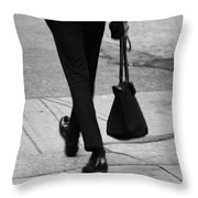 Bags In My Pocket  Throw Pillow