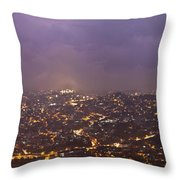Baguio At Night Throw Pillow