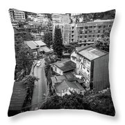 Baguio City On High Throw Pillow
