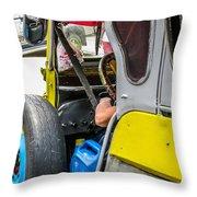 Baguio Jeepneys 5 Throw Pillow