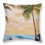 Bahama Bound Throw Pillow